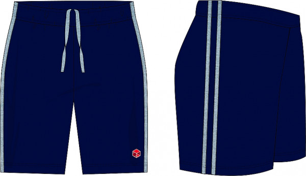 Sports-Short, with 2 stripes, Unisex, NEW